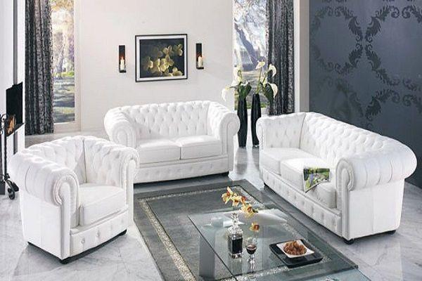 Мягкая мебель для офиса диван и кресло Chester Lux