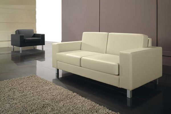 Мягкая мебель для офиса диван и кресло Summit 1